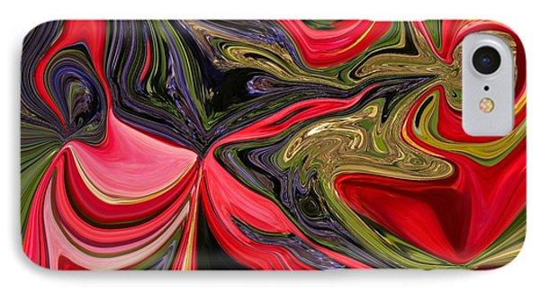 Swirled Garden 1 IPhone Case