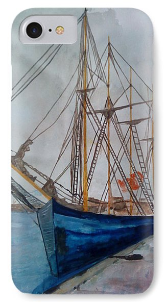 Tall Pirate Ship IPhone Case