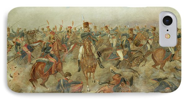 The Battle Of Waterloo June 18th 1815 IPhone Case