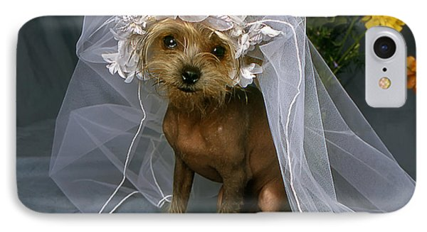The Bride Is A Real Dog IPhone Case
