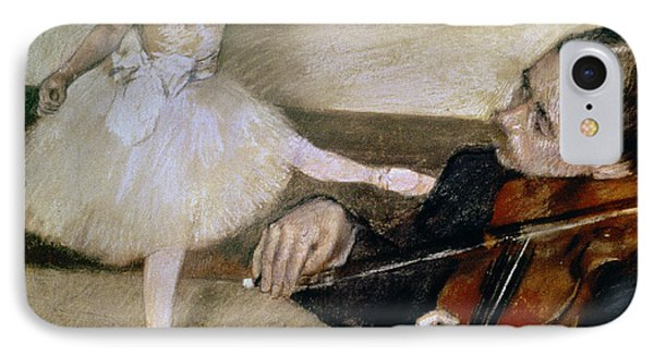 Violin iPhone 8 Case - The Dance Lesson by Edgar Degas