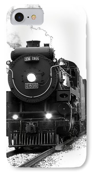 Train iPhone 8 Case - The Empress by Vivian Christopher