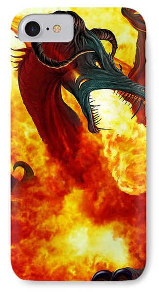 The Fire Dragon IPhone Case