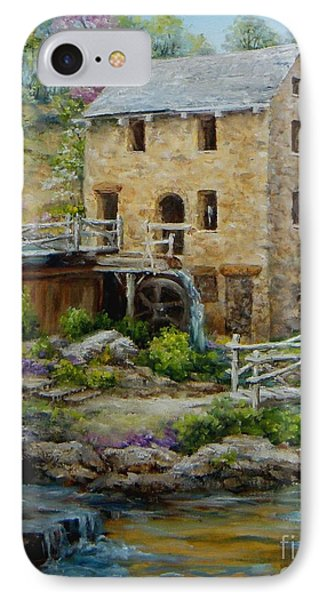 The Old Mill In Spring IPhone Case