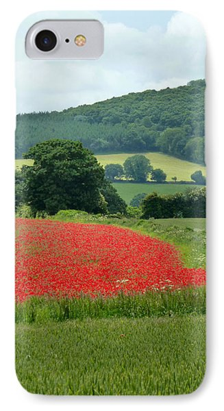 The Poppy Field. IPhone Case