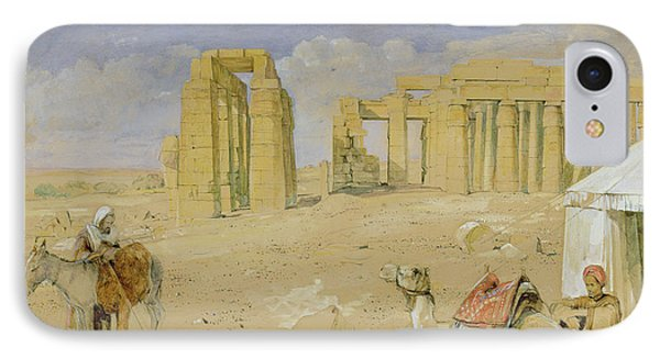 The Ramesseum At Thebes IPhone Case