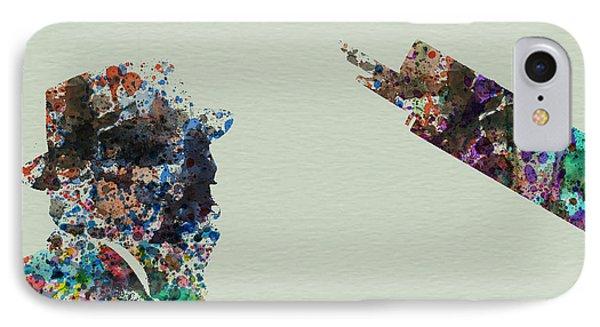 Saxophone iPhone 8 Case - Thelonious Monk by Naxart Studio