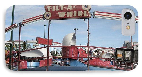 Tilt A Whirl Ride IPhone Case