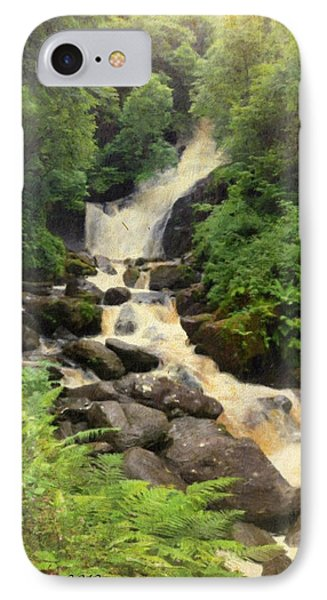 Torc Waterfall In Ireland IPhone Case