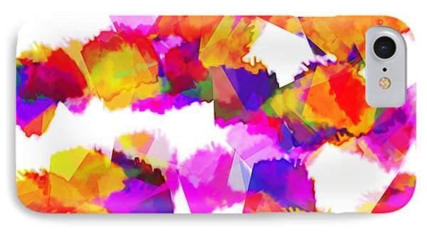 Torn Colours IPhone Case