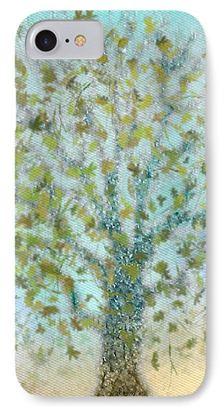 Tree In Autumn IPhone Case