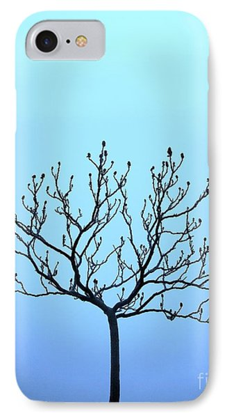 Tree With The Blues IPhone Case