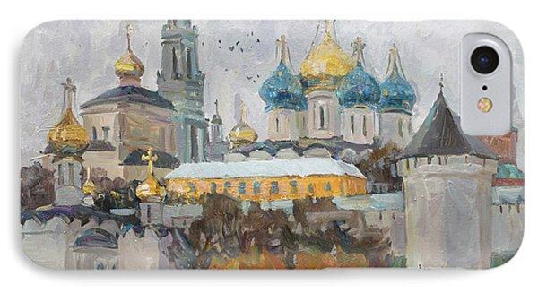 Trinity-st. Sergius Lavra IPhone Case