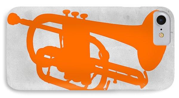 Trombone iPhone 8 Case - Tuba  by Naxart Studio