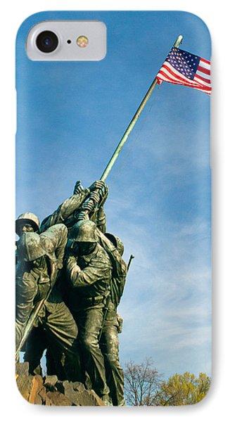 U.s Marine Corps Memorial IPhone Case