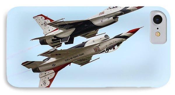 Usaf Thunderbirds Display Pair IPhone Case