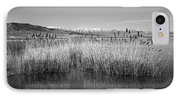 Utah Lake And Wasatch Mountains IPhone Case