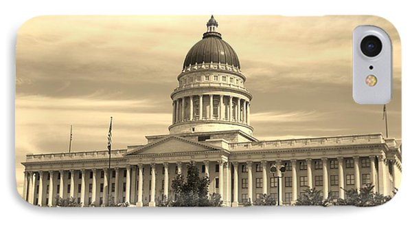 Utah State Capital IPhone Case