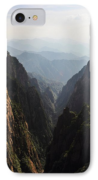 Valley In Huangshan IPhone Case