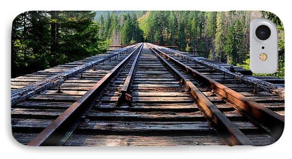 Vance Creek Bridge IPhone Case