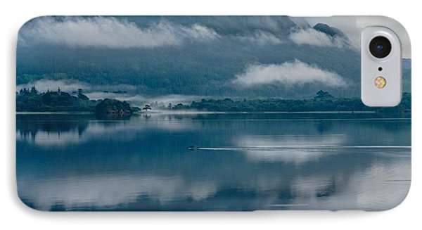 View At Sunset From The Lake Hotel In Killarney Ireland IPhone Case