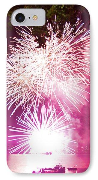 Violet Explosion IPhone Case