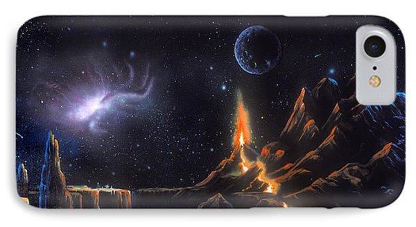 Volcanic Planet IPhone Case