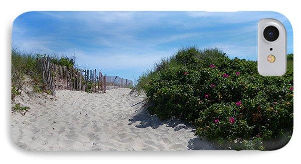 Walking Through The Dunes IPhone Case
