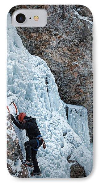 Waterfall Climbing IPhone Case