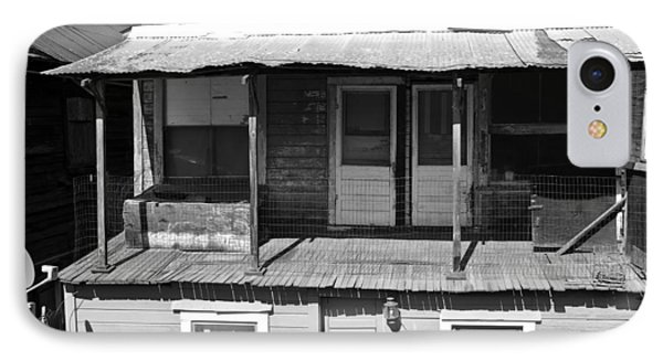 Weathered Home With Satellite Dish IPhone Case