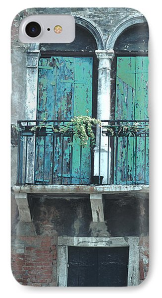 Weathered Venice Porch IPhone Case