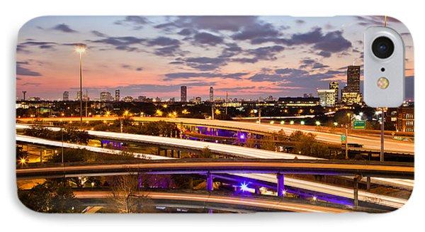West Houston Around Dowtown IPhone Case