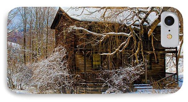 West Virginia Winter IPhone Case