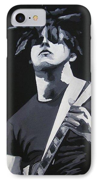 White In Black IPhone Case