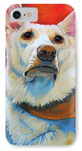White Shepherd IPhone Case