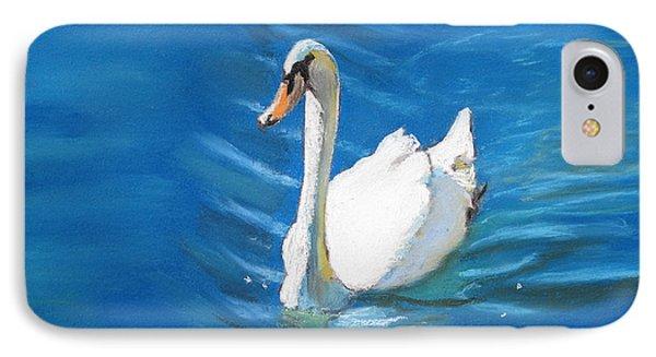White Swan At Lake Eola Of Orlando IPhone Case