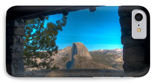 Window View Half Dome IPhone Case