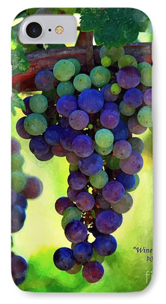 Wine To Be - Art IPhone Case