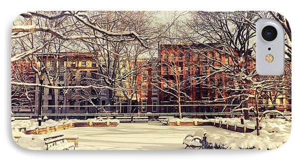Winter - New York City IPhone Case