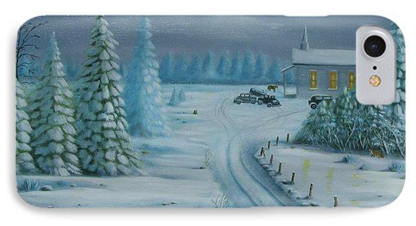 Winter Worship  IPhone Case
