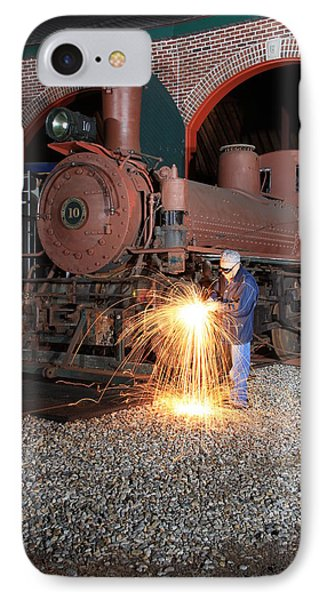 Working On The Railroad IPhone Case