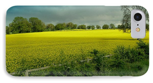 Yellow Field IPhone Case