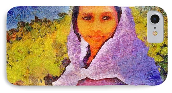 Young Moroccan Girl IPhone Case