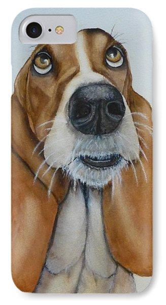 Hound Dog's Pleeease IPhone Case