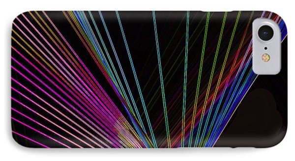 Laser Abstract IPhone Case