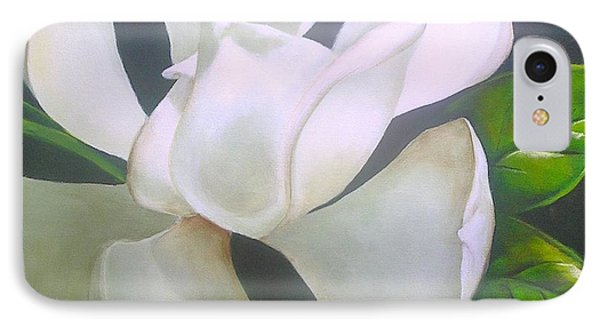 Magnolia Delight Painting IPhone Case