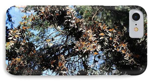 Monarch Large Cluster IPhone Case