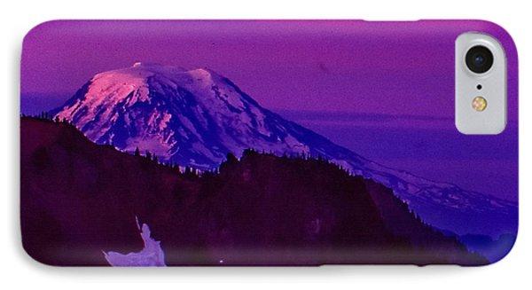 Mt. Rainier Sunrise IPhone Case