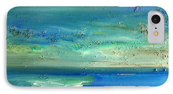 Pearls Of Tranquility Seascape 1 IPhone Case