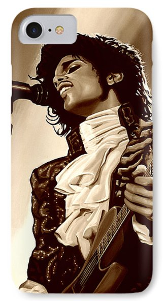 Rhythm And Blues iPhone 8 Case -  Prince The Artist by Paul Meijering